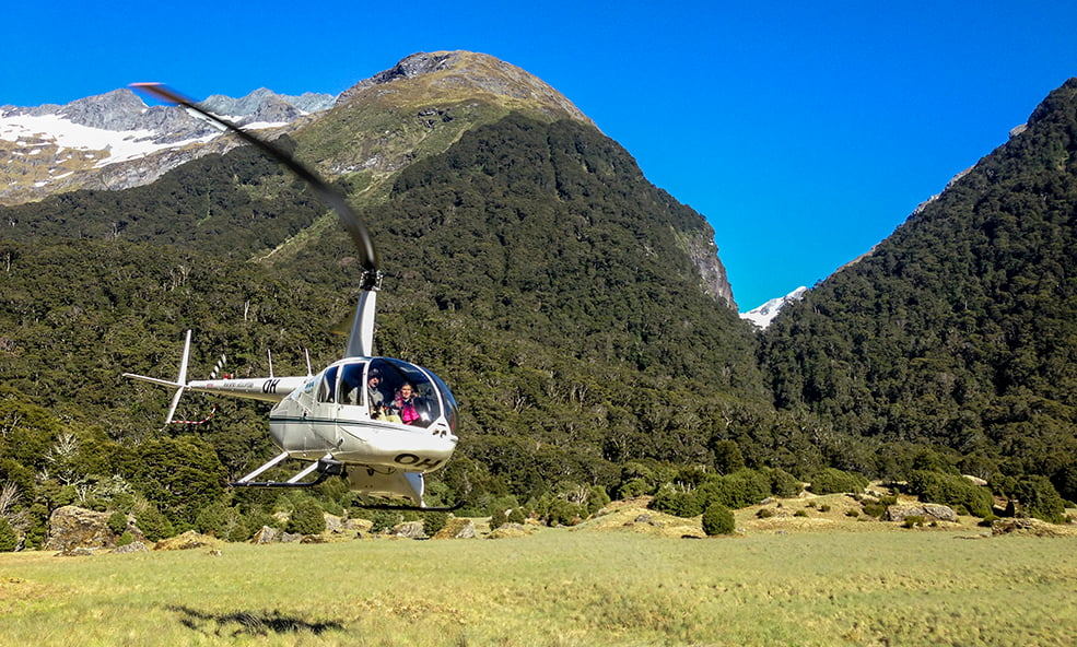 Helicopter Fly Out Angling NZ