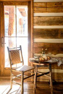 Delicious lunch at Taylor River Lodge in Colorado