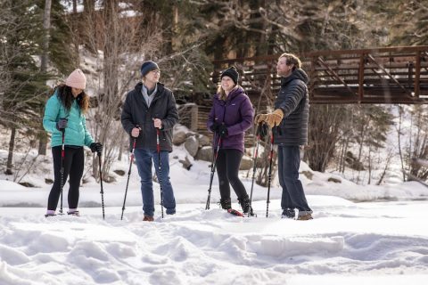 Cross Country Skiing at Taylor River Lodge in Colorado