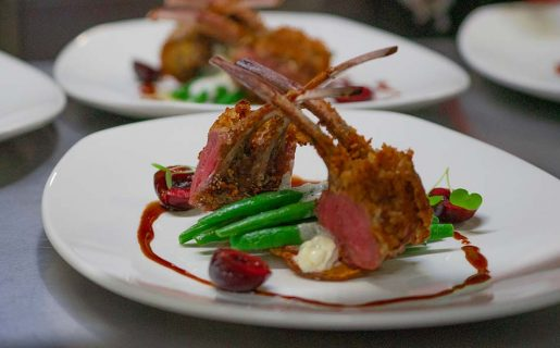 Culinary options at Halcyon with Kingfisher Heli